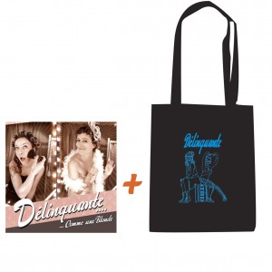 Pack album + sac Délinquante
